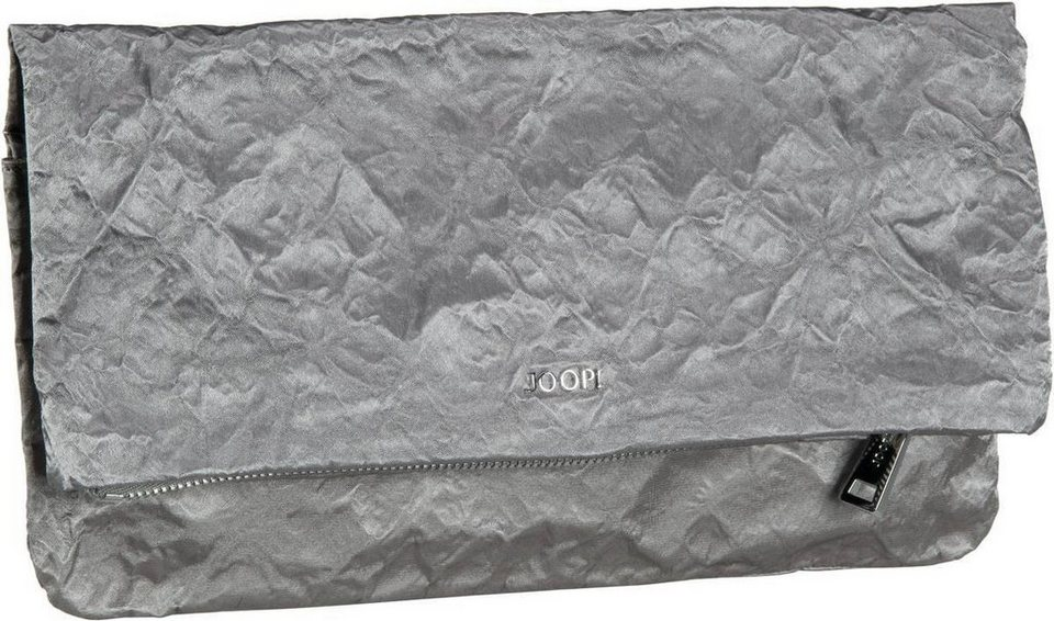 Joop Mara Satin Clutch in Light Grey