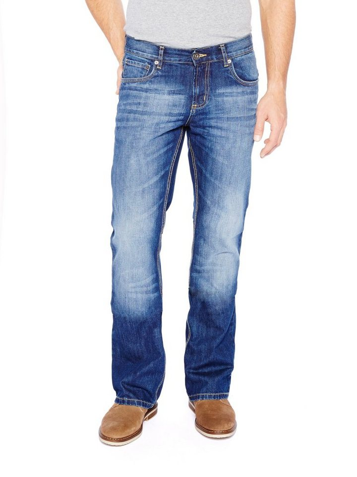 COLORADO DENIM Jeans »C950 BOOTCUT Herren Jeans« in dark blue