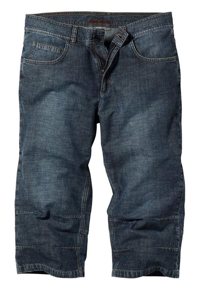 Eddie Bauer 7/8-Jeans in Dark Denim