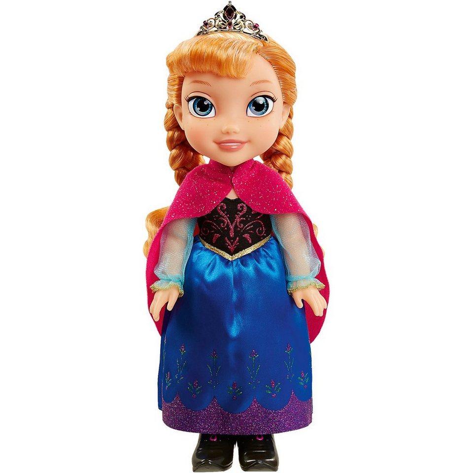 Jakks Pacific Disney Frozen Anna Stehpuppe mit Winter Cape, 35 cm