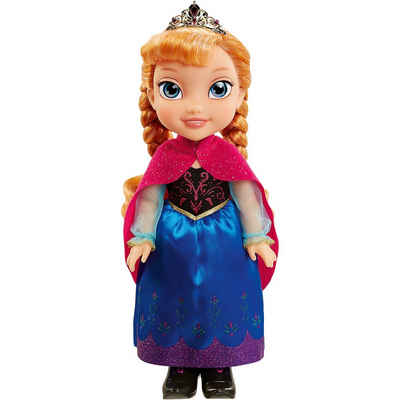 Jakks Pacific Disney Frozen Anna Stehpuppe mit Winter Cape, 35 cm