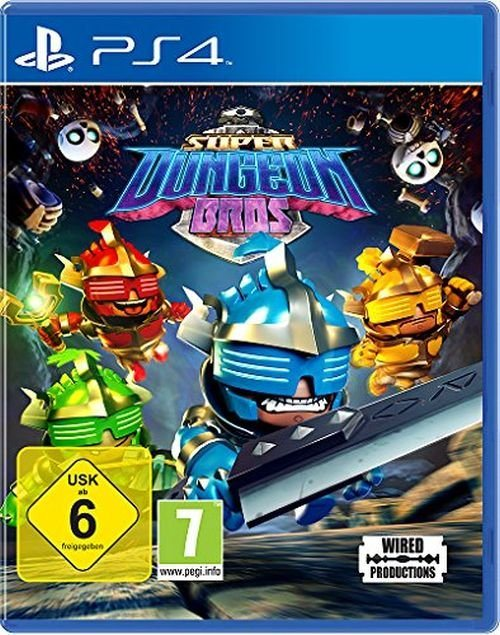 nordic games playstation 4 spiel super dungeon bros. Black Bedroom Furniture Sets. Home Design Ideas