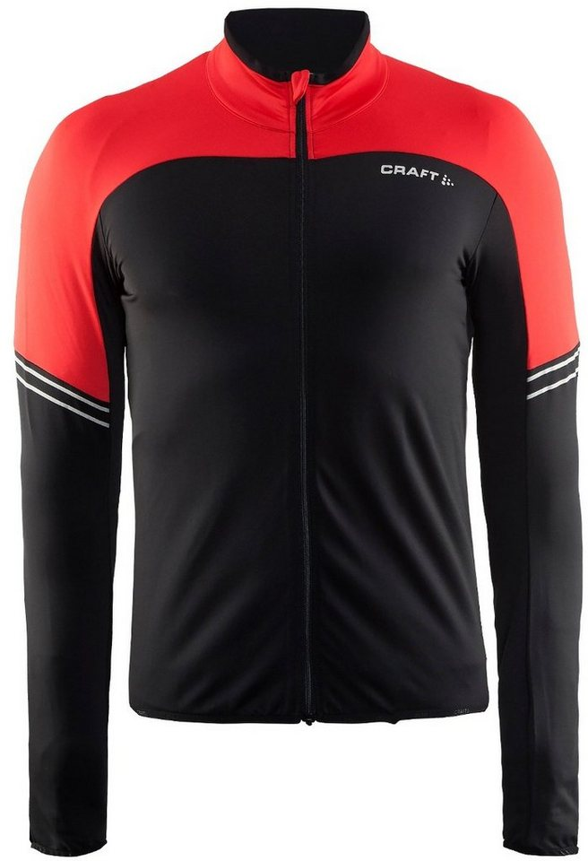 Craft Radtrikot »Velo Thermal Jersey Men« in schwarz