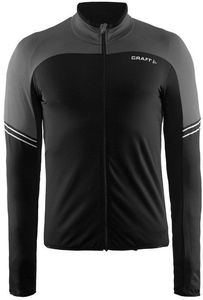 Craft Radtrikot »Velo Thermal Jersey Men« in schwarz
