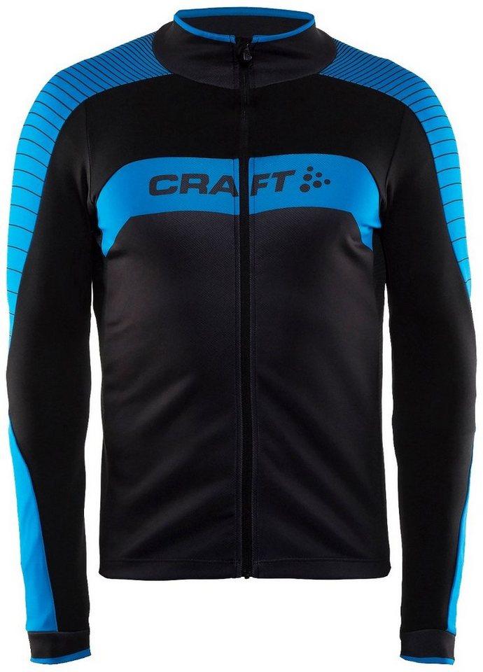 Craft Radtrikot »Gran Fondo Jersey LS Men« in schwarz