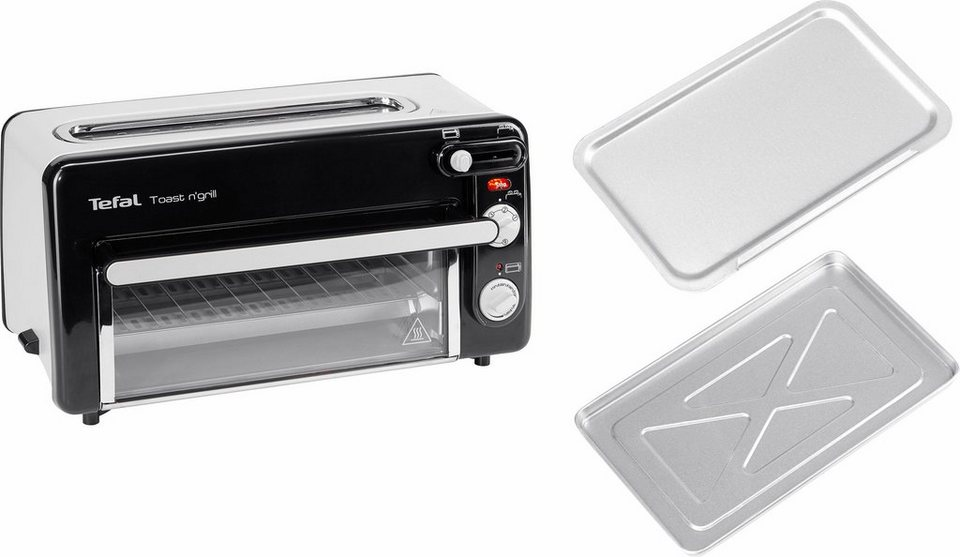 tefal tl6008 toaster toast n 39 grill und mini ofen 1300 watt kein vorheizen notwendig online. Black Bedroom Furniture Sets. Home Design Ideas