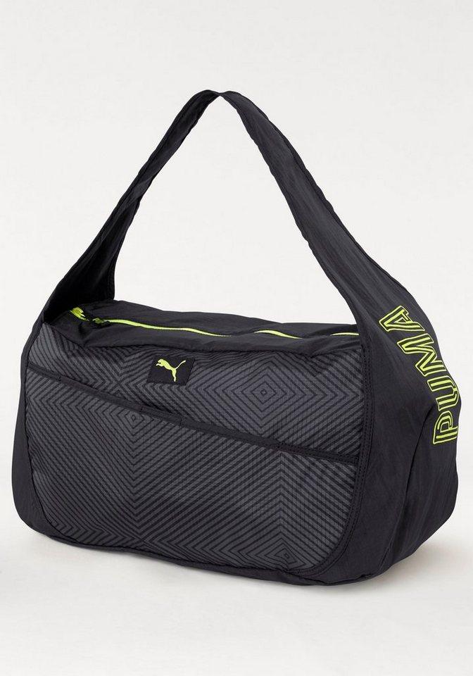 PUMA Sporttasche »Studio Barrel Bag« in schwarz