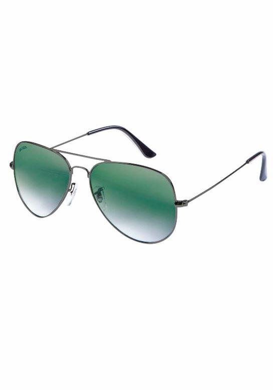 MasterDis Sonnenbrille im zeitlos coolen Look in grau-grün
