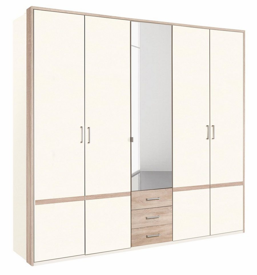 45 sparen wimex kleiderschrank 225cm breit nur 329 99. Black Bedroom Furniture Sets. Home Design Ideas