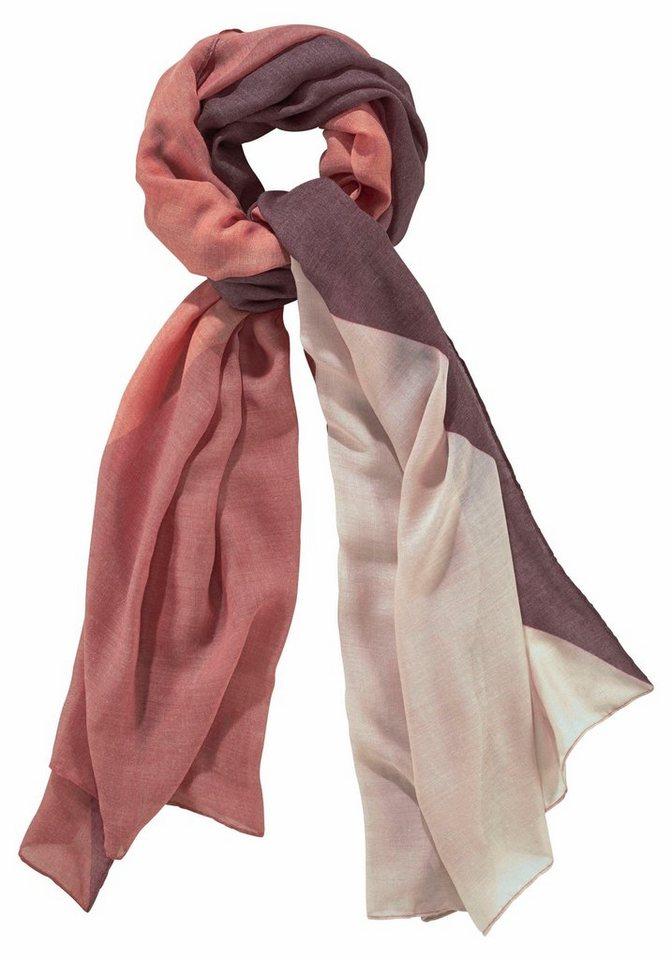 Passigatti Modeschal im modischen Design in rot