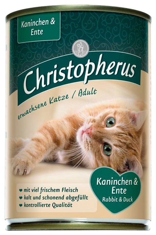 Set: Katzennassfutter »Mix«, 8 Dosen á 400 g in braun
