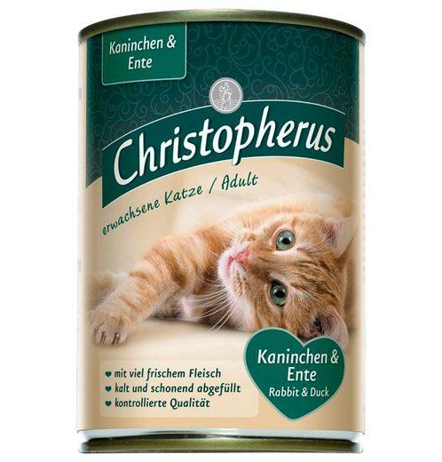 Set: Katzennassfutter »Mix«, 8 Dosen á 400 g