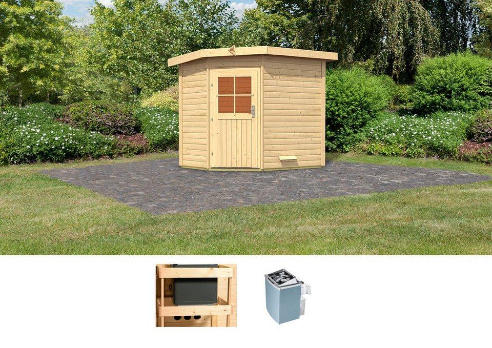 karibu saunahaus tore 231 196 226 cm 9 kw ofen mit int steuerung online kaufen otto. Black Bedroom Furniture Sets. Home Design Ideas