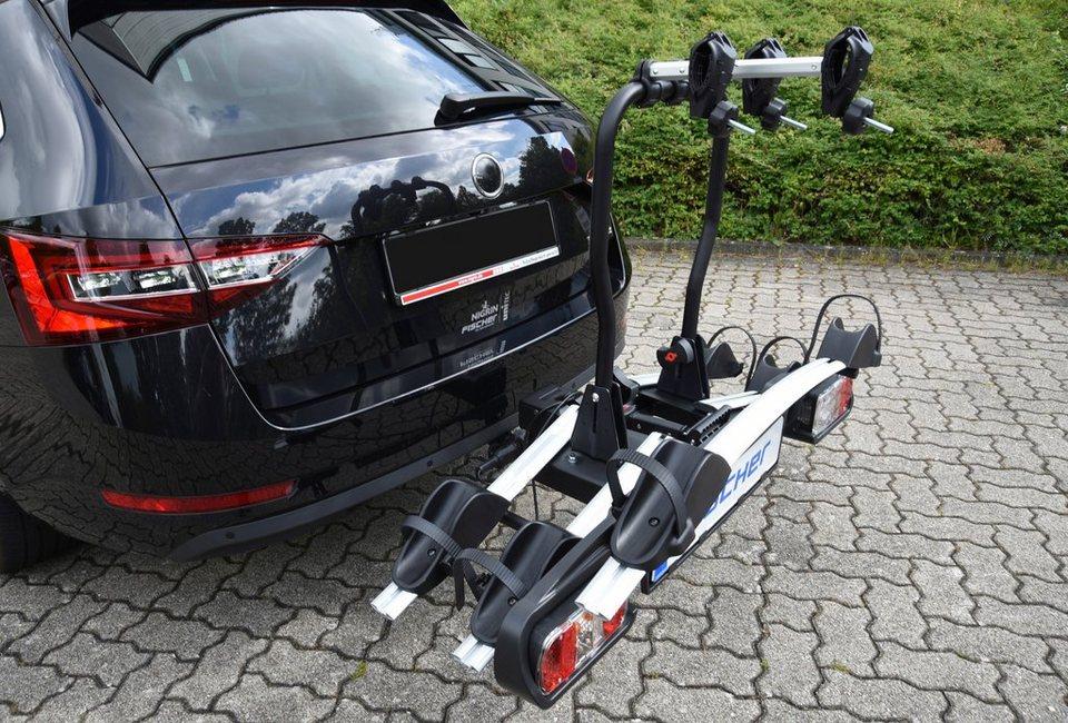 Erweiterung für Fahrradheckträger »für FISCHER Fahrradträger Proline« in silberfarben