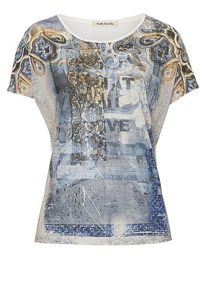 Betty Barclay Shirt in Dunkelblau/Blau - Bu