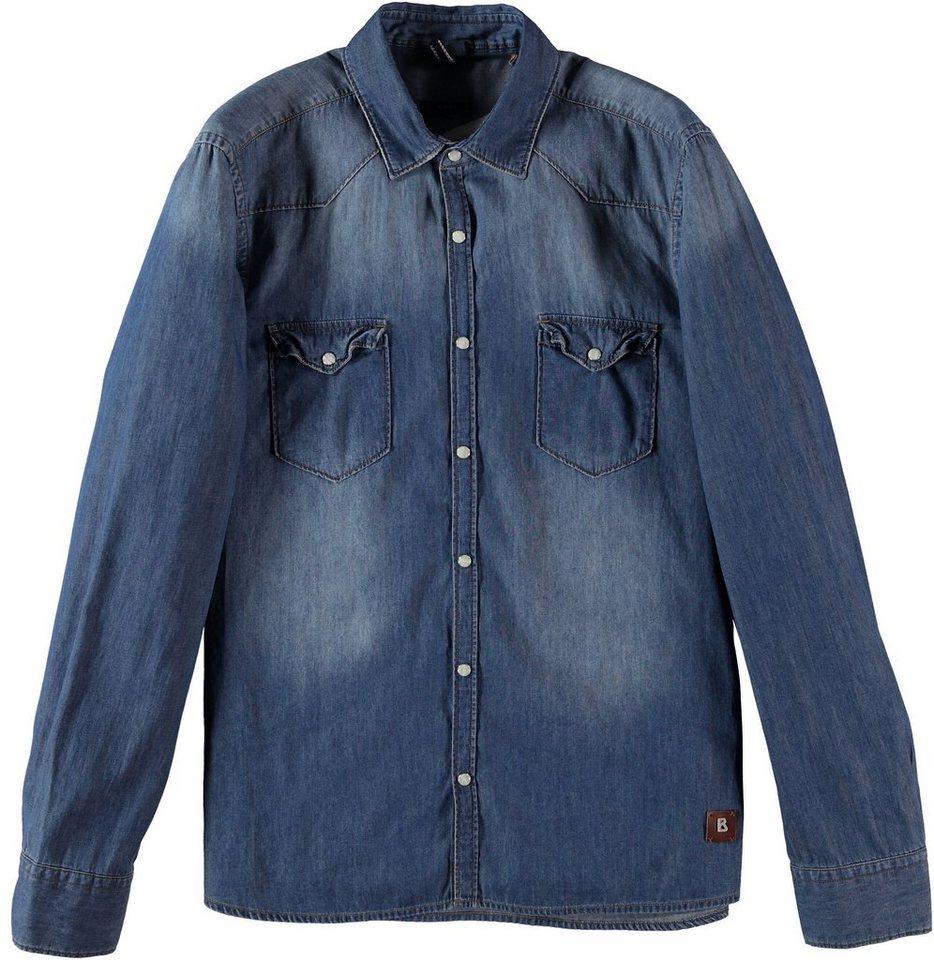 Bogner Jeans Hemd in blue mirage