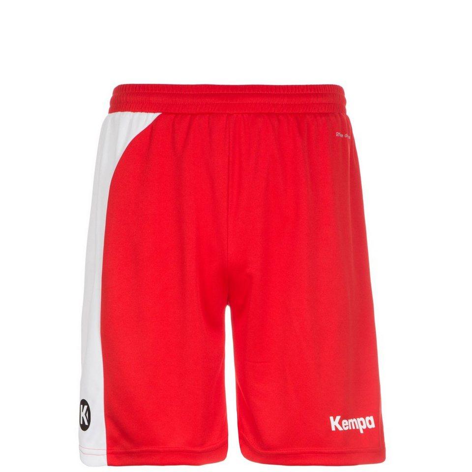 KEMPA Peak Short Kinder in rot / weiß