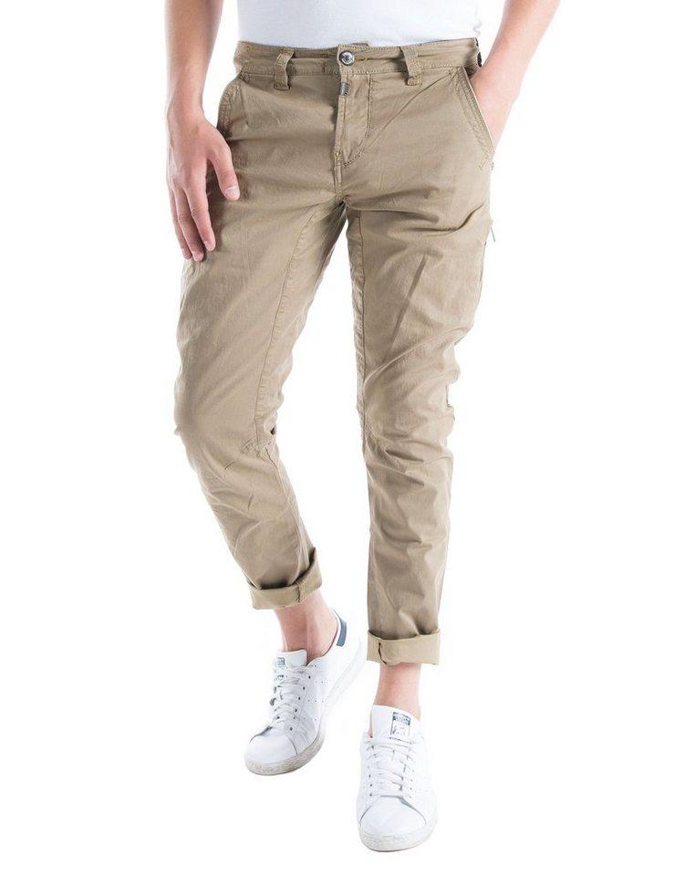 TIMEZONE Hosen lang »AxelTZ 3D traveller pants« in dirty sand