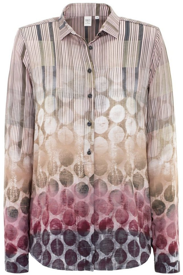 ETERNA 1/1-Arm Bluse »MODERN FIT« in pink
