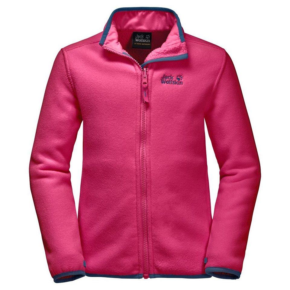 Jack Wolfskin Fleecejacke »ARCTIC WOLF GIRLS« in pink raspberry