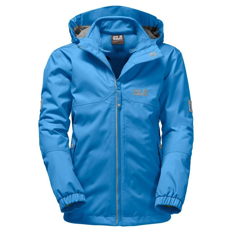 Jack Wolfskin Outdoorjacke »ICELAND 3IN1 BOYS« 2 teilig in brilliant blue