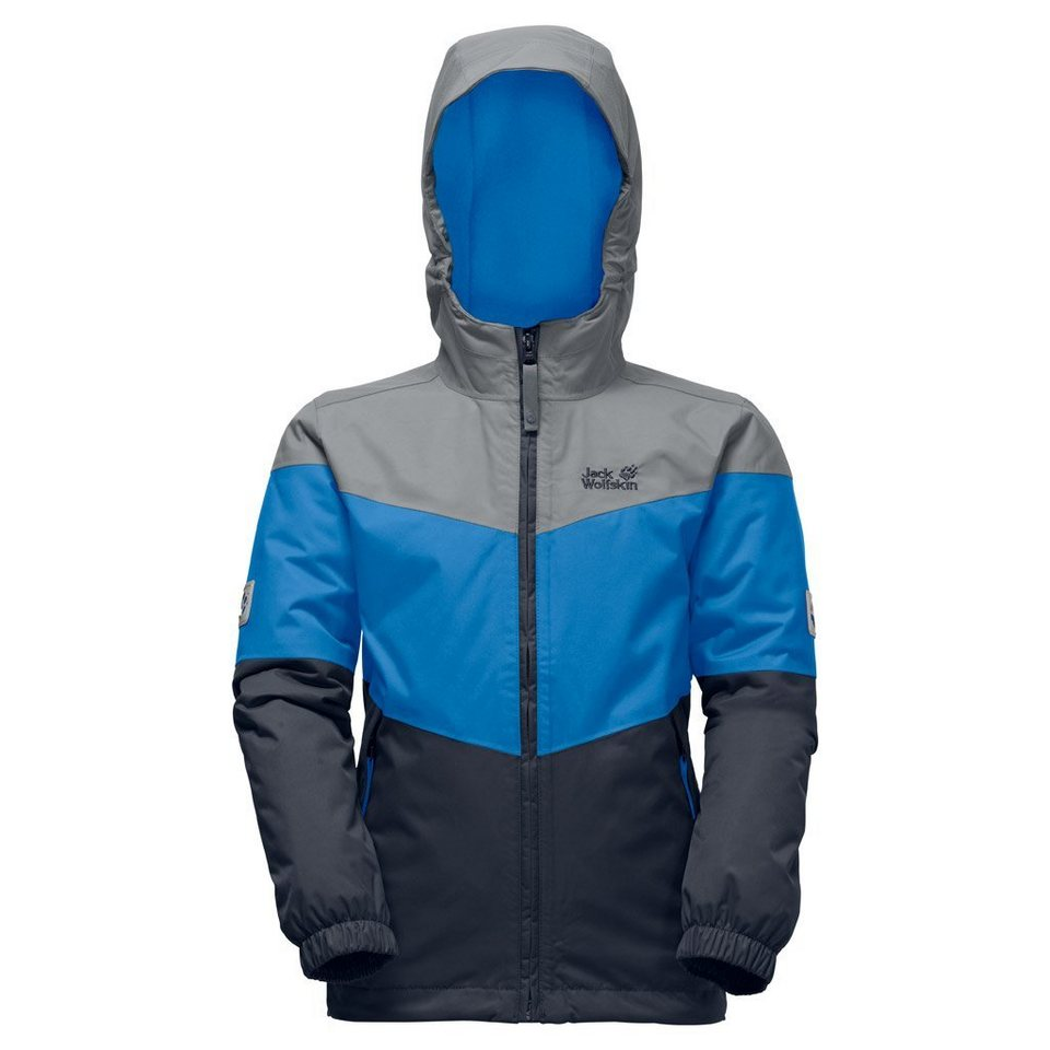 Jack Wolfskin Outdoorjacke »PENGUIN ISLAND JACKET KIDS« in brilliant blue