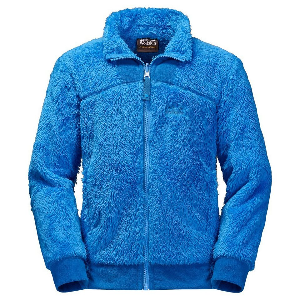 Jack Wolfskin Fleecejacke »POLAR BEAR BOYS« in brilliant blue