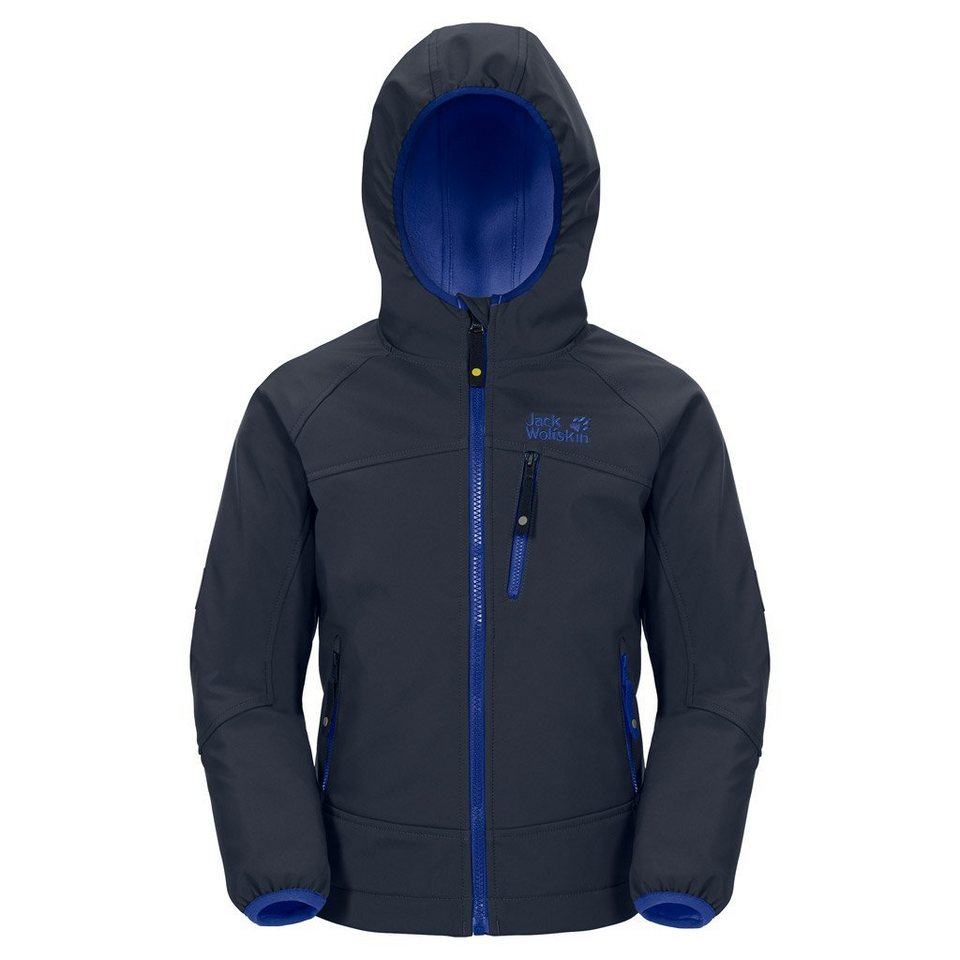 Jack Wolfskin Softshelljacke »WHIRLWIND JACKET BOYS« in night blue