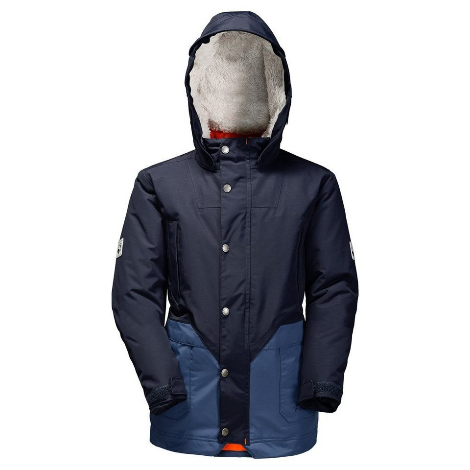 Jack Wolfskin Outdoorparka »POLAR BEAR PARKA BOYS« in night blue