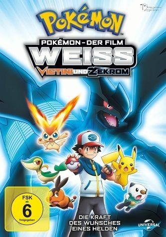 DVD »Pokémon - Der Film: Weiß - Victini und Zekrom«