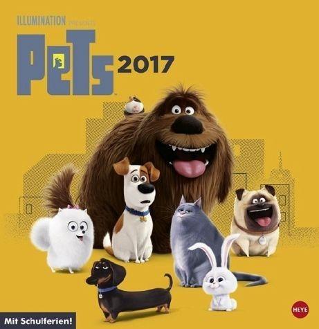 Kalender »Pets Posterkalender quadratisch - Kalender 2017«
