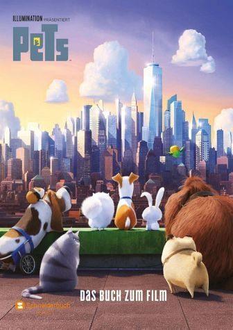 Gebundenes Buch »Pets - Das Buch zum Film«
