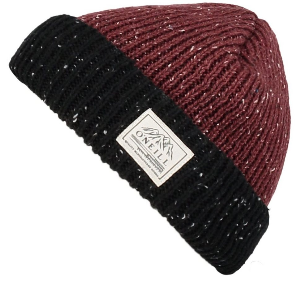 O'Neill Beanie »Aftershave« in Dunkelrot