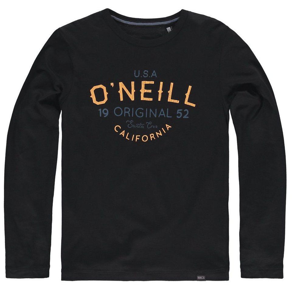 O'Neill T-Shirt langärmlig »Oceanside« in Schwarz