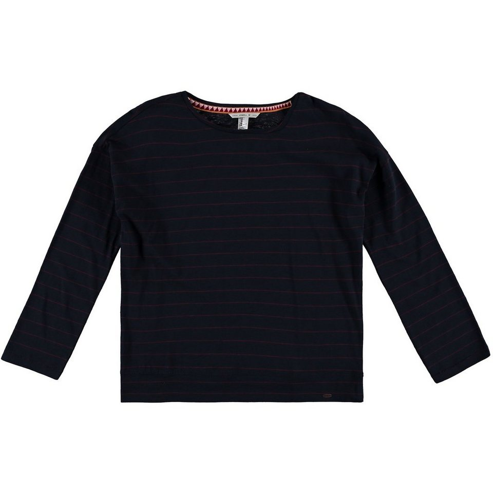 O'Neill T-Shirt langärmlig »Jack's Stripe« in Blau / Rot