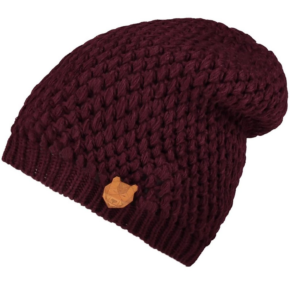 O'Neill Beanie »Cosy« in Dunkelrot