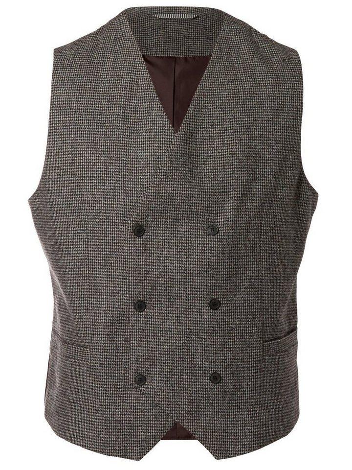 Selected Slim fit- Weste in Dark Grey