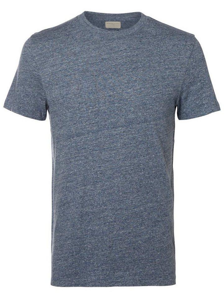 Selected O-Ausschnitt T-Shirt in Ombre Blue