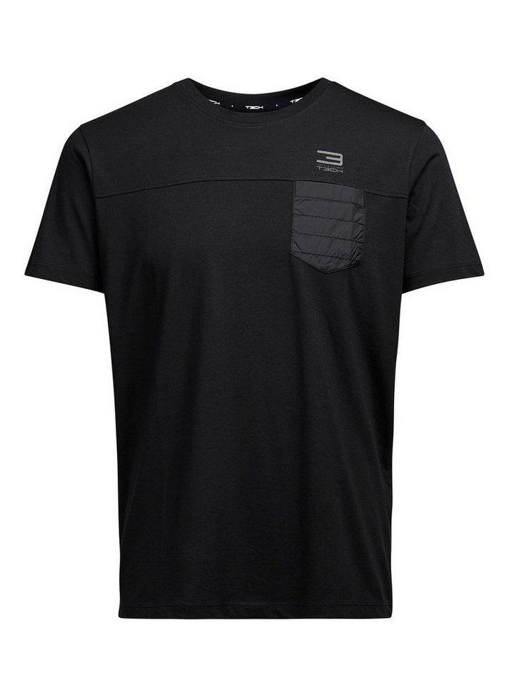 Jack & Jones Hybrid- T-Shirt in Black