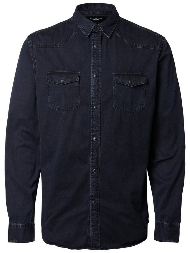 Selected Antonio Banderas - Jeanshemd in Dark Blue Denim
