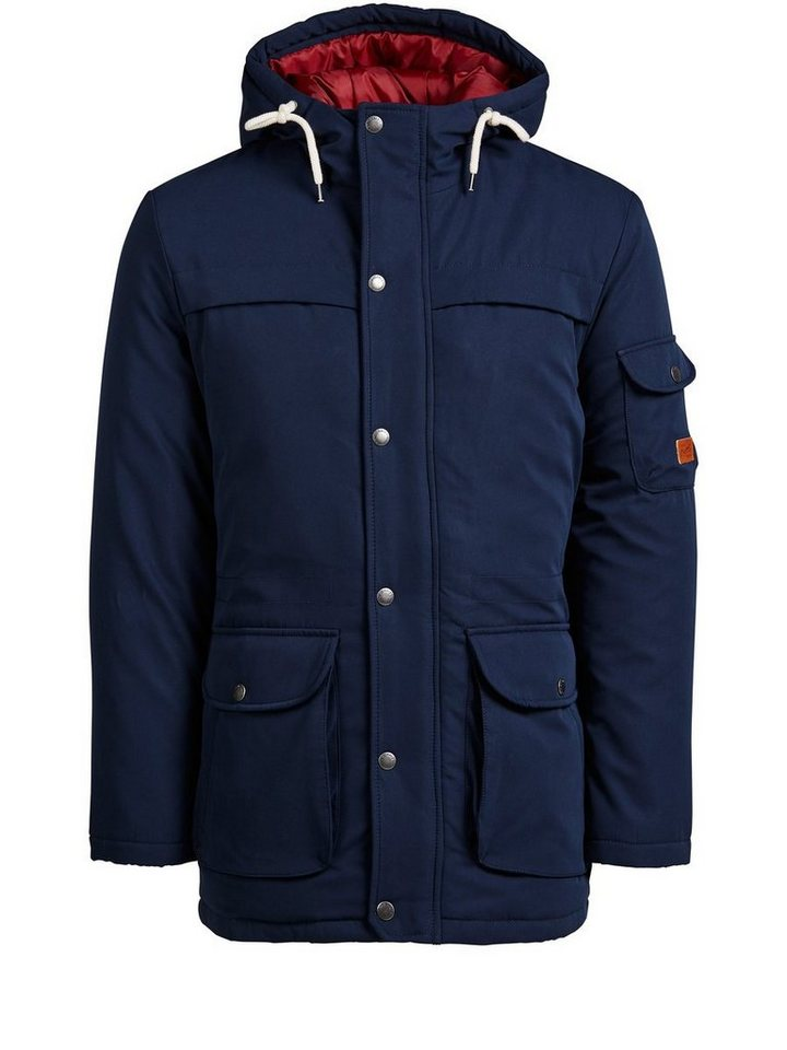 Jack & Jones Gefütterte Jacke in Navy Blazer