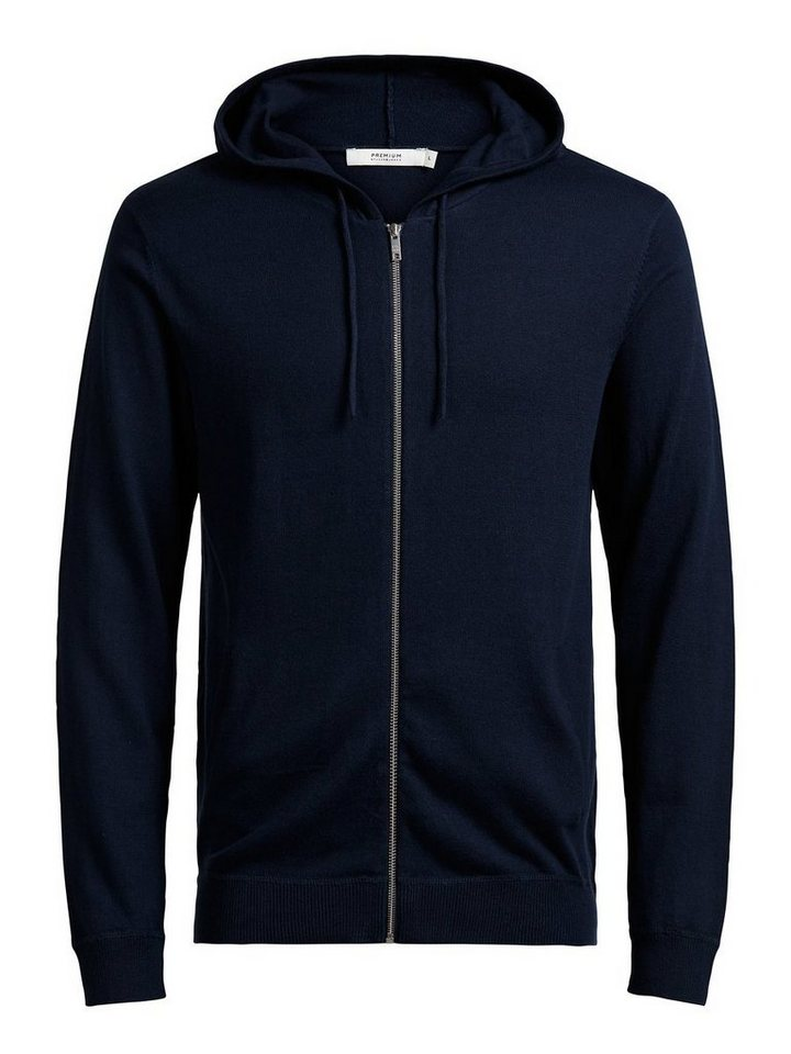 Jack & Jones Kapuzen- Hoodie in Navy Blazer