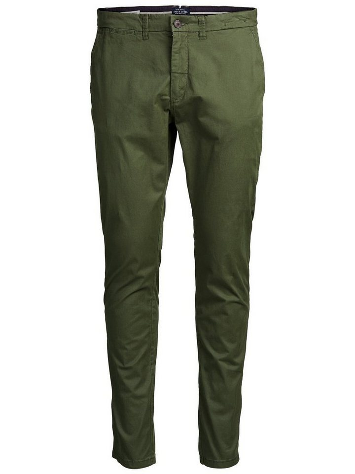 Jack & Jones Marco AKM 165 Chino in Olive Night