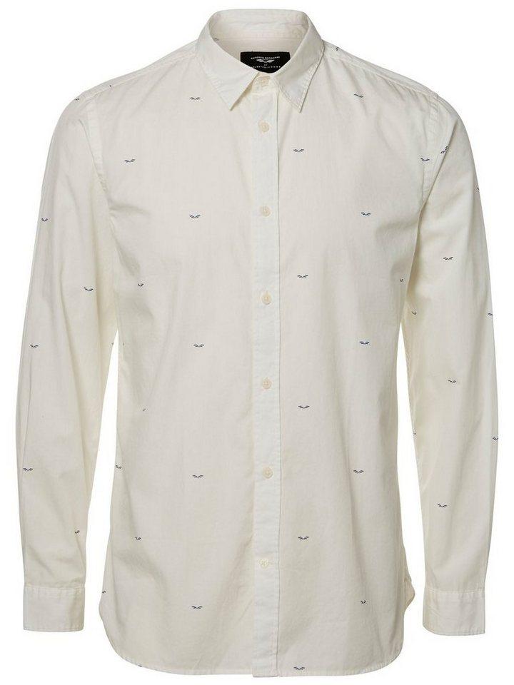 Selected Antonio Banderas - Langarmhemd in Marshmallow