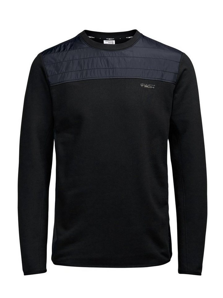 Jack & Jones Hybrid- Sweatshirt in Black