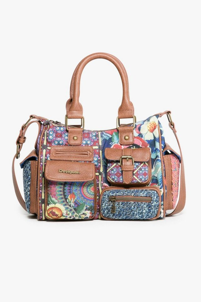 Desigual Henkeltasche »LONDON MINI« in blau-bunt