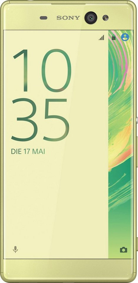 Sony Xperia XA Ultra Smartphone, 15,24 cm (6 Zoll) Display, LTE (4G), Android 5.0, 21,5 Megapixel in goldfarben