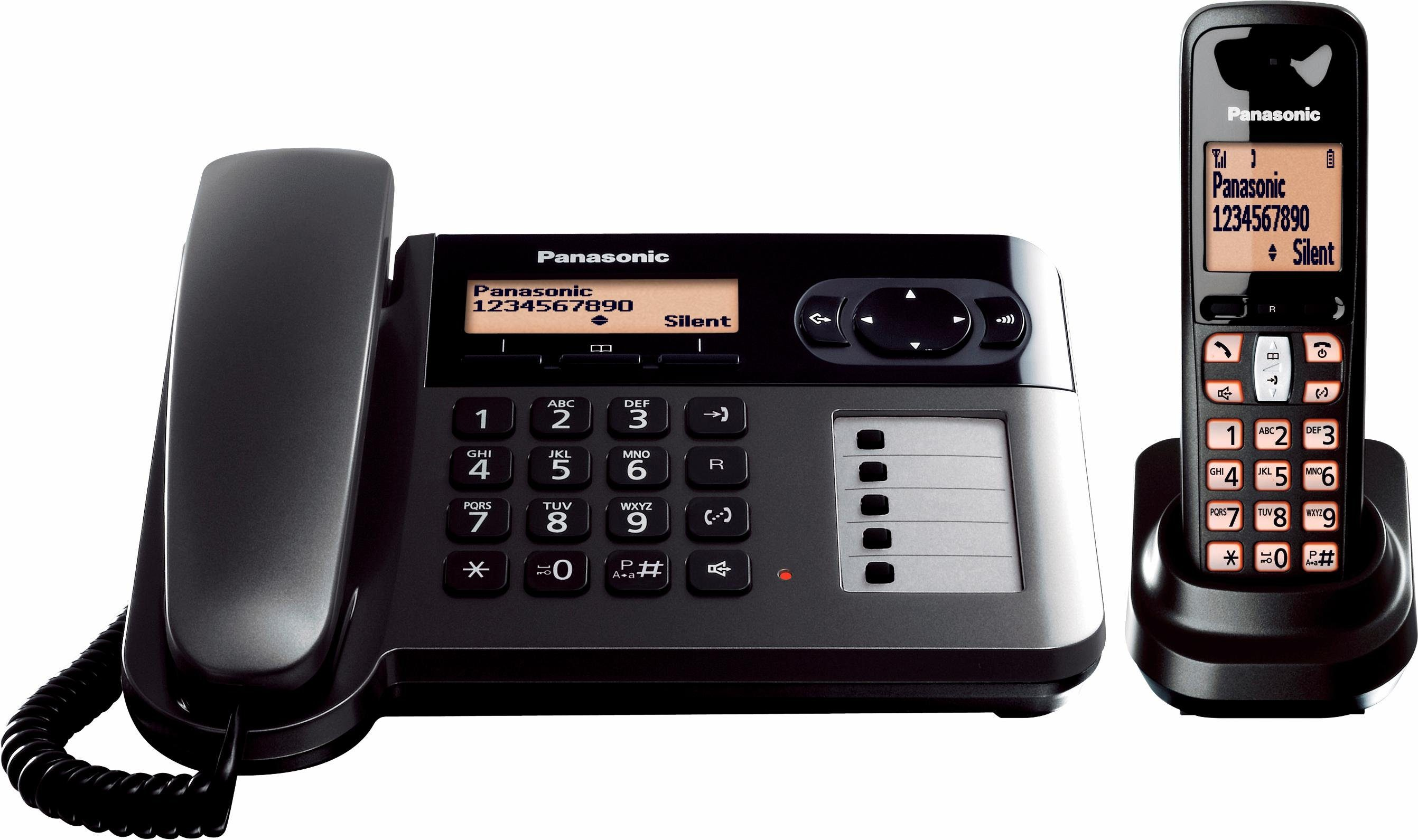 Panasonic KX-TGF110 DECT Kombi Telefon-Set