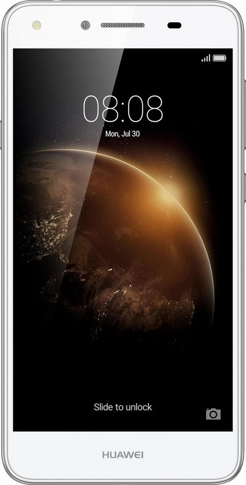 Huawei Y6 II compact Dual Smartphone, 12,7 cm (5 Zoll) Display, LTE (4G), Android™ 5.1 mit EMUI 3.1 in weiß