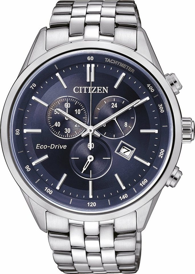 Citizen Chronograph »AT2141-52L« in silberfarben